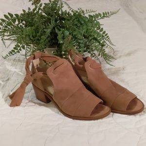 Nine West Suede Rollicking Booties